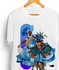 Camiseta ESPECIAL - Yemonja e Oxóssi, mãe e filho