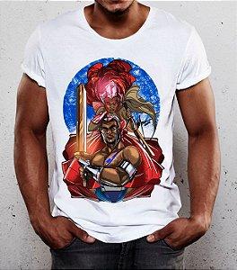 Camiseta - Ogum e Iansã, guerreiros do Órum