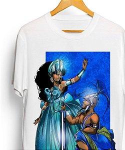 Camiseta - Yemanjá e Ogum, batismo no mar