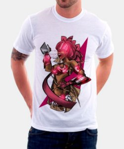 Camiseta - Orixá Obá, rainha em fúria
