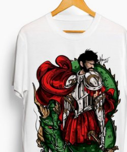 Camiseta - O Santo Jorge guerreiro