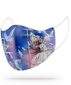 Máscara de proteção em pano - Oxala