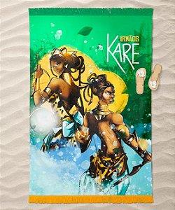 Canga de praia - Irmãos Oxum e Odé Karé