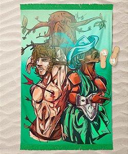 Canga de praia - Oxóssi e São Sebastião