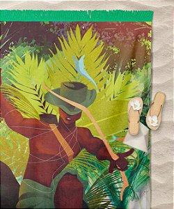 Canga de praia - Oxóssi caçador