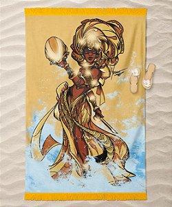 Canga de praia - Oxum, a rainha soberana
