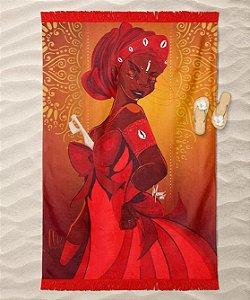 Canga de praia - Oyá, a rainha do Jacutá