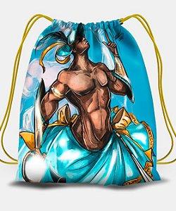 Sacola com cordões - Logunedé, guerreiro encantado