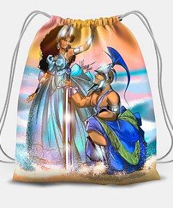 Sacola com cordões - Yemanjá e Ogum, batismo no mar