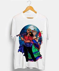 Camiseta - Povo cigano sob a lua encantada