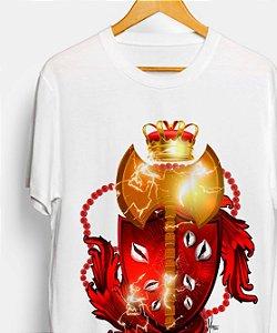 Camiseta - brasão Xangô, o rei divino
