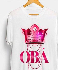 Camiseta - Coroa de Obá