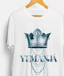 Camiseta - Coroa de Yemanjá