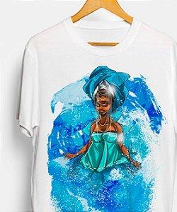 Camiseta - Yemanjá, senhora das águas salgadas