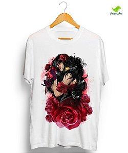 Camiseta - Pombagira rosa vermelha