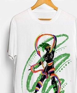 Camiseta - Orixá Oxumaré, coleção tribal
