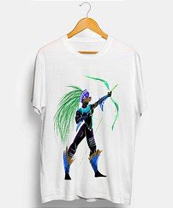 Camiseta - Orixá Oxóssi, coleção tribal