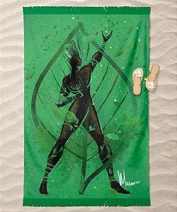Canga de praia - Orixá Ossaim, coleção tribal