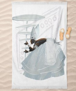 Canga de praia - Orixá Oxalá, coleção tribal