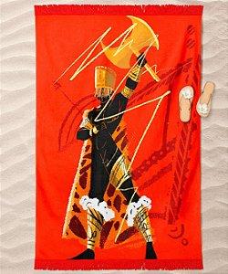 Canga de praia - Orixá Xangô, coleção tribal