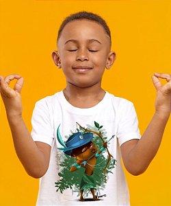 Camiseta Infantil - Oxóssi, menino caçador