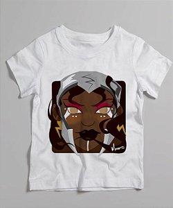 Camiseta infantil - Iansã Minecraft