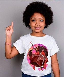 Camiseta infantil - Iansã, menina levada