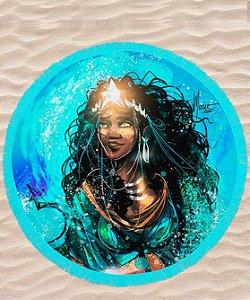 Canga de praia redonda - Yemanjá, rainha soberana