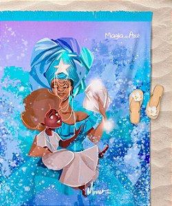 Canga de praia - Yemanjá a mãe sereia