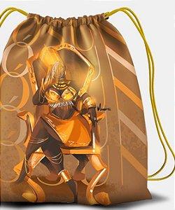 Sacola com cordões - Oxum Deluxe, rainha