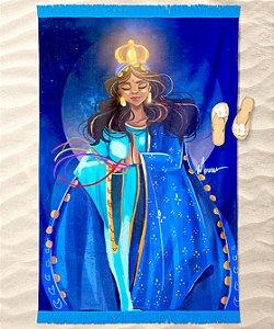 Canga de praia - Santa Sara Kali, rainha dos ciganos