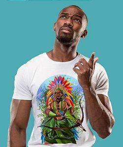 Camiseta - Oxóssi, rei da mata de Umbanda