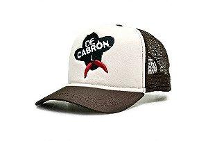 BONÉ TRUCKER DE CABRÓN