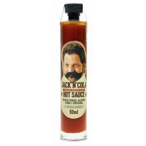 MOLHO JACK'N'COLA HOT SAUCE CHEF CARLOS BERTOLAZZI 50ML
