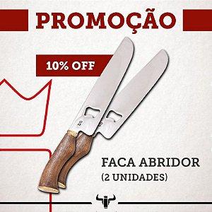"""KIT 2 FACAS ABRIDORES 10"""""""