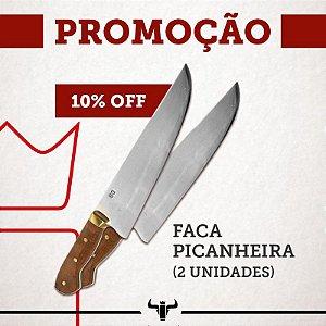 """KIT 2 FACAS PICANHEIRAS 10"""""""