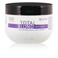 Total Blond - Matizador e Hidratante de Alto Impacto 300gr