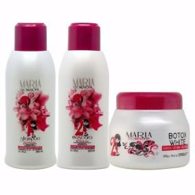 Maria Escandalosa Kit Mini Progressiva 2X300ml + Beautox White 250gr