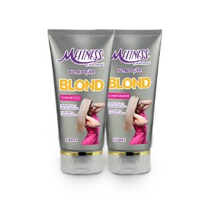 Kit Blond Nutripower: shampoo e condicionador blond