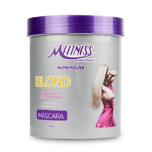 Máscara Blond Nutripower 1Kg