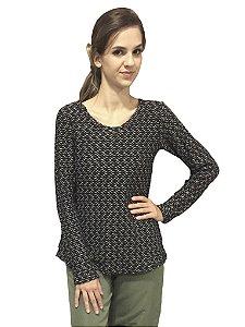 Blusa tricot de malha