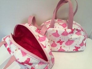 Bolsa infantil estampada - Pink