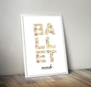 Poster - Ballet Flores