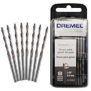 """Broca de corte para 3.2mm (1/8"""") drywall Dremel AD560"""