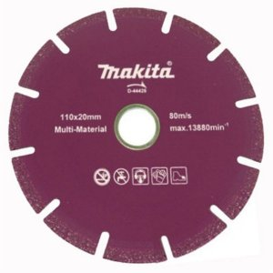 "Disco diamantado 110mm (4.1/2"") Segmentado Makita D-44426"