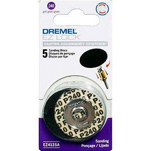 Disco de Lixa 240 EZ Lock DREMEL EZ411SA
