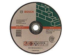Disco de Corte p/ Pedra 230mm Bosch 2608600525