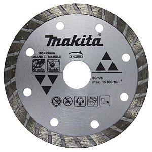 Disco Diamantado Granito e Mármore 105X 20MM MAKITA D-42553
