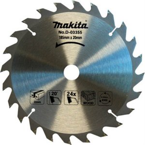 "Disco de Serra 185mm (7-1/4"") 24 dentes MAKITA D-03355"