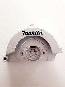 Protetor fixo completo Makita 153860-0 p/ Serra Mármore 4100H e 4100NB